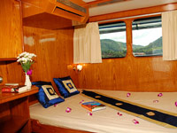 Double cabin with private balcony