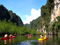 Phang Nga Bay - Sea canoe