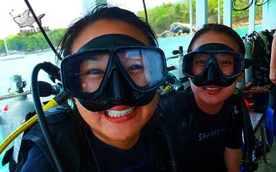 PADI Open Water Diver course Phuket