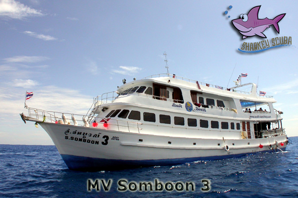 Somboon 3 Thailand liveaboard